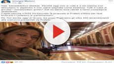 Giorgia Meloni, la gaffe del Transatlantico deserto: i deputati erano nelle commissioni