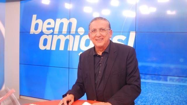 Galvão Bueno passa mal e é afastado da transmissão da final da Libertadores