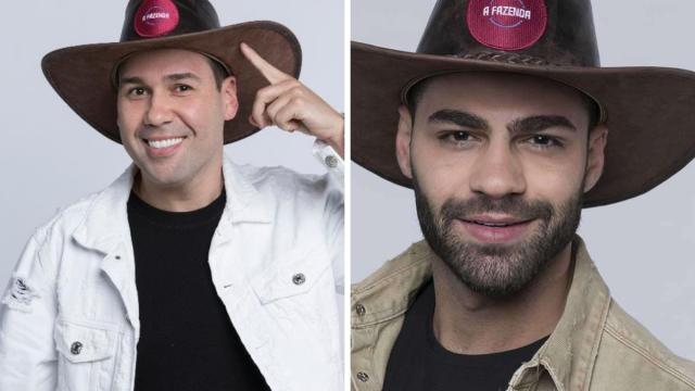 'A Fazenda': enquete UOL mostra equilíbrio entre Viny Vieira e Netto