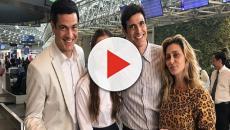 'A Dona do Pedaço': Reynaldo Gianecchini e Agatha Moreira gravam de madrugada no Minhocão
