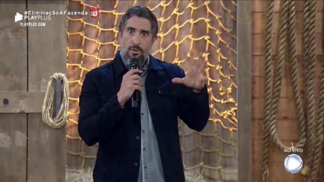'A Fazenda': Marcos Mion inicia transmissão ao vivo emocionado e clama por orações a Gugu