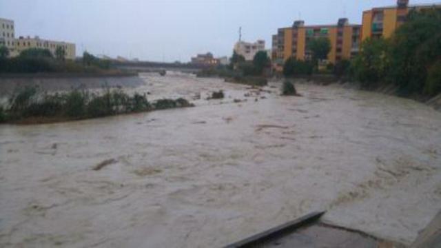 Maltempo in Calabria, strade allagate a Reggio e Lamezia Terme
