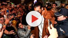 Can Yaman es recibido en el aeropuerto de Madrid por centenares de fans