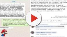 Conversa entre pai e filho sobre bullying bomba nas redes sociais