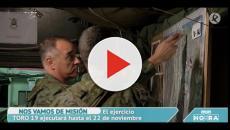 Mediante la 'Operación Toro' el Ejercito de Tierra ensaya una intervención en el exterior