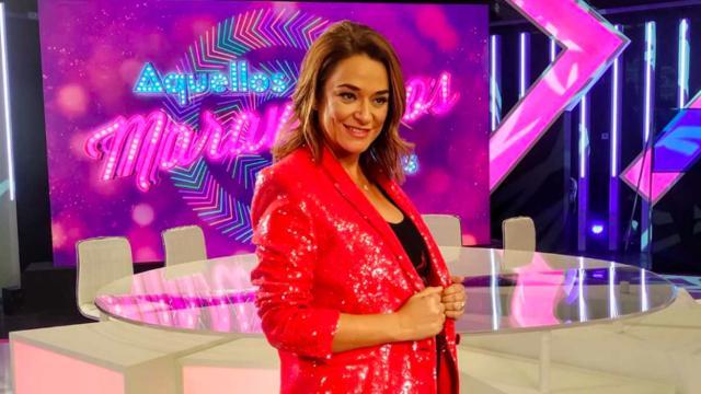 Con Toñi Moreno en plena baja por embarazo, Telemadrid retira 'Aquellos maravillosos años'