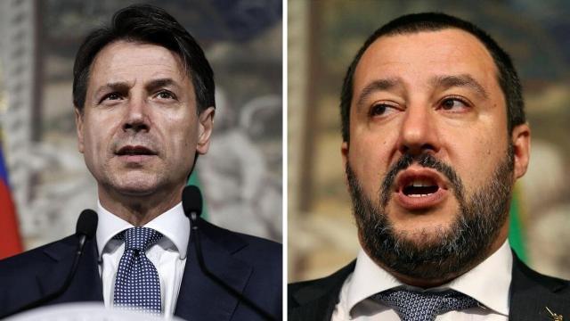 Conte pronto a querelare per calunnia Salvini