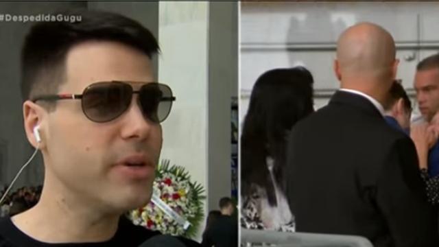 Filho de Gugu Liberato diz a Luiz Bacci que honrará os ensinamentos de seu pai