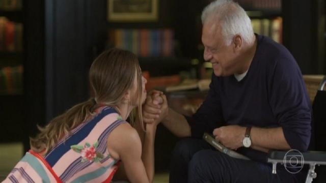 'Bom Sucesso': Alberto retira Diogo de seu testamento e coloca Paloma como sua herdeira