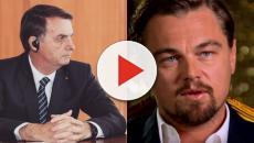 Leonardo DiCaprio responde por acusações de Bolsonaro