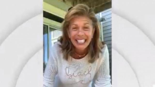 Hoda Kotb shares a video of her daughter crawling on 'Today'