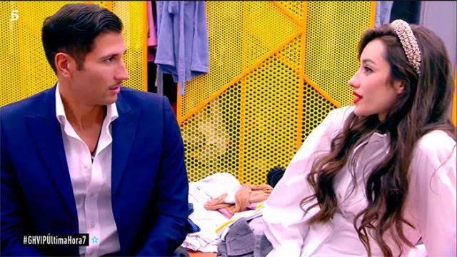 Gianmarco se molestó con Adara por sus declaraciones en GH VIP 7