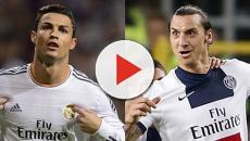 Cristiano Ronaldo é provocado por Ibrahimovic