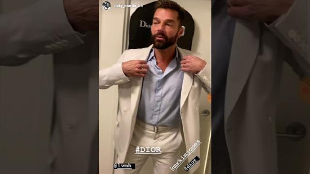 Ricky Martin se graba tocándose la entrepierna y revoluciona las redes sociales
