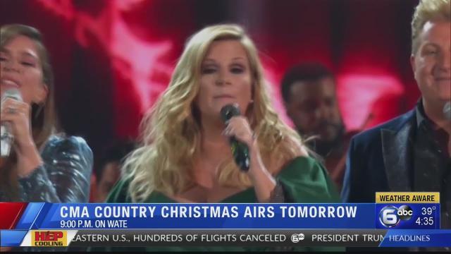 Trisha Yearwood hosts the 2019 'CMA Country Christmas'