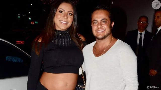 Esposa de Thammy Miranda, Andressa Ferreira, revela que já engordou 17 Kg na gravidez