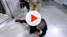 'Sálvame': Kiko Hernández acaba por los suelos tras forcejear con David Valldeperas