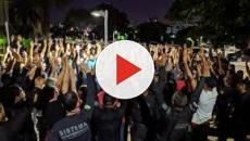 Policiais Penais realizam protesto no sul de Natal