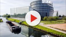 Fratelli d'Italia oggi a Bruxelles davanti al Parlamento Europeo