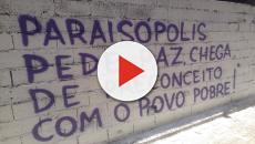 Depois de uma semana, Paraisópolis conta com religiosos e grafites contra violência