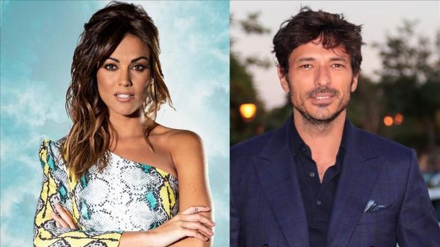 El modelo Andrés Velencoso y Lara Álvarez, fueron pillados en Tossa de Mar