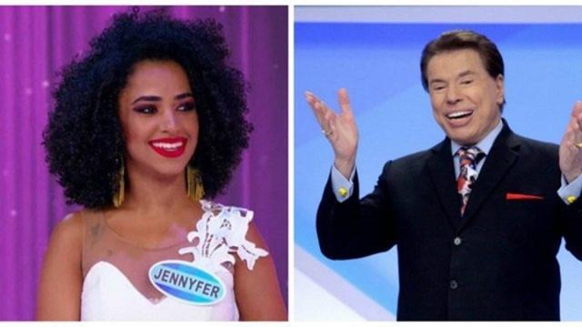 Internautas acusam Silvio Santos de racismo e candidata desabafa: 'constrangida'