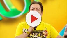Fausto Silva impede Sheron Menezzes de falar a respeito de abuso ao vivo no programa