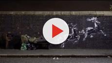 Banksy dedica la sua opera natalizia ai senzatetto di Birmingham