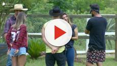 'A Fazenda 11': Diego, Hari e Lucas contam sobre a experiência de cuidar dos animais