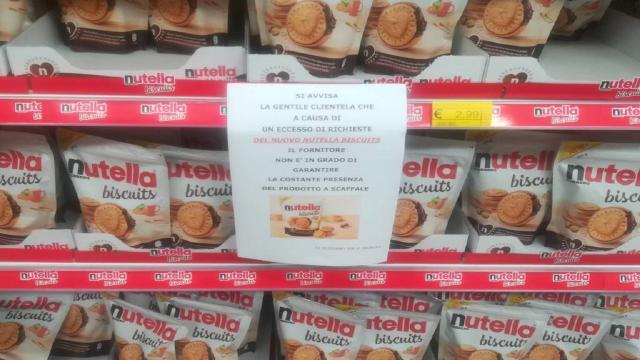 Nutella Biscuits quasi introvabili: il marketing della scarsità della Ferrero