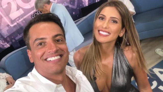 Leo Dias elogia Lívia Andrade e afirma que gostaria de trabalhar com ela no TV Fama