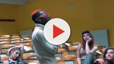 Bello Figo rischia denuncia per aver girato un video esplicito all'Università di Pisa