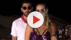 Luana Piovani posta vídeo cheirando a camisa do namorado e diz estar com saudade