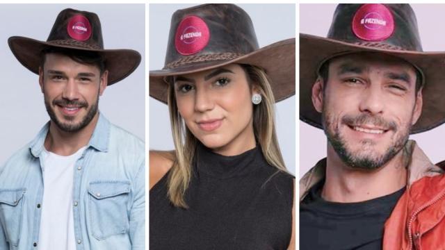 'A Fazenda 11': enquete UOL mostra Hariany e Lucas com vantagem na final