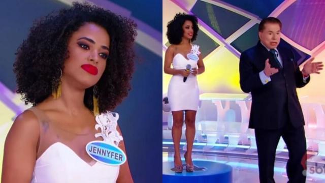 Cantora manifesta repúdio a suposta atitude racista de Silvio Santos