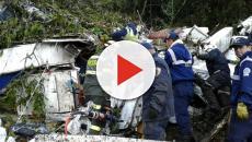Imagens do acidente da Chapecoense