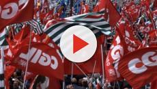 Cgil, Cisl e Uil in piazza a Roma: Landini vuole ripartire dai lavoratori