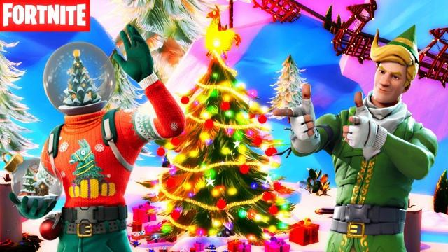 'Fortnite': Christmas event map has been leaked