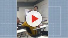 Polícia ouve aluno que é denunciado por racismo depois de ter recusado prova de professora