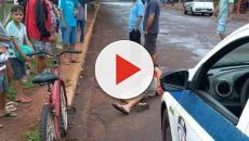 Santa Casa inicia protocolo de morte encefálica de menina arremessada no chão em MS