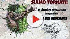 Palermo, Museo Geologico Gemmellaro: mostra permanente dedicata ai dinosauri