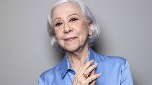 A atriz Fernanda Montenegro anuncia pausa na carreira, aos 90 anos