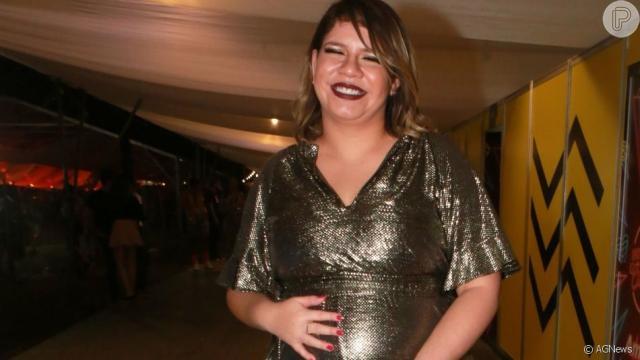 Marília Mendonça organizou com os internautas um bolão sobre o nascimento de seu filho
