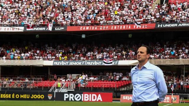 Treinador Rogério Ceni recusa propostas e renova com o Fortaleza para 2020