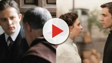 Una Vita, anticipazioni: Lucia e Telmo si baciano