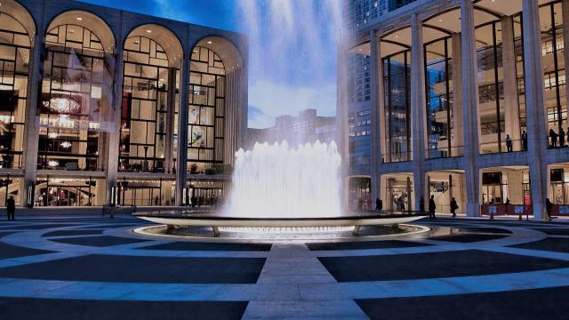 Lincoln Center undergoing $550M renovation