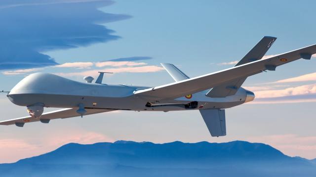 El ejercito de España recibe sus drones ¨predator¨