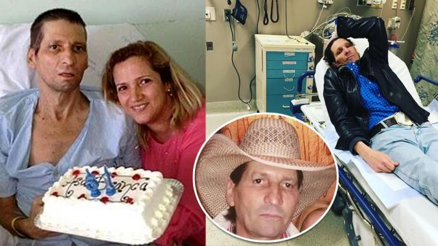 Asa Branca está pedindo para morrer, diz mulher do locutor com câncer terminal