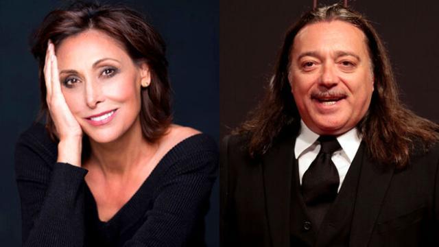 María Barranco e Isidro Montalvo actores de la serie ¨servir y proteger¨