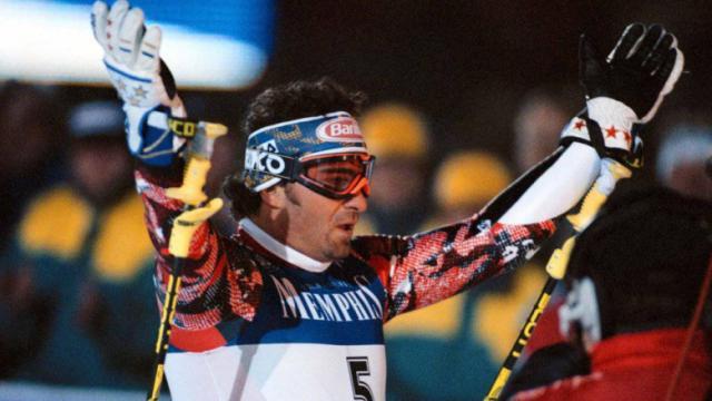 5 imprese di Alberto Tomba: lo slalom di Lech 1994 ed il gigante in Sierra Nevada 1996